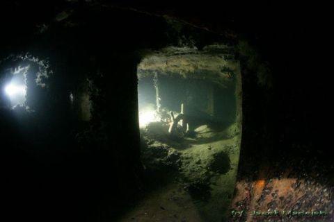 Nurkowanie wrakowe Trałowiec/Kuter Jastarnia