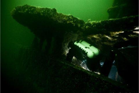 Czwartkowe nurkowanie wrakowe
