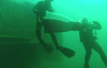 Zdjęcia nurkowanie dla Niepodległej