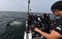 Nurkowanie Baltictech na otwartym morzu